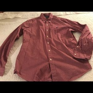 Ralph Lauren men's L button front shirt L